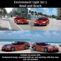 lighting set poser 3d pz3