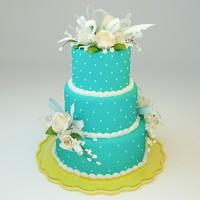 3d wedding cake 08