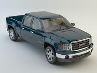gmc sierra 3d model