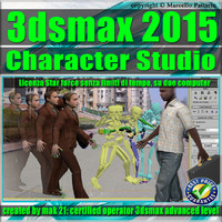 3ds max 2015 Character Studio star force