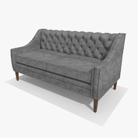 chesterfield chair 3d model