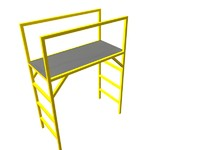 conveyor crossovers 3d model