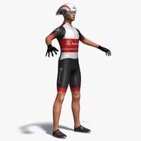 3dsmax time pursuit cyclist