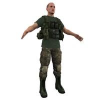mercenary soldier max