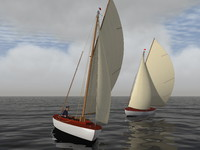3d model recreation sails