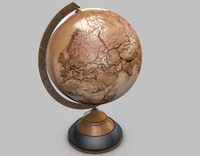 maya old globe