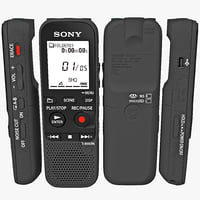 3d sony digital voice recorder model