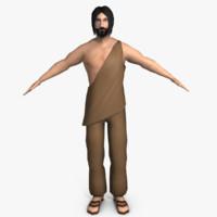 3dsmax ancient roman man