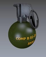 frag grenade 3ds