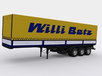 3d model trailer willi betz