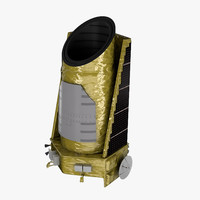 3d kepler telescope model