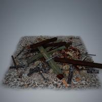 debris 7 3d model