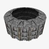 3d model colosseum medieval