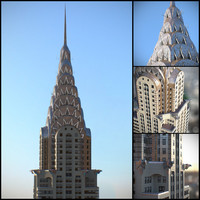 3d max chrysler building