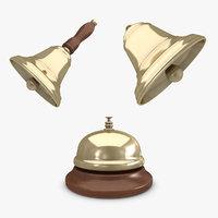 3d max bell set