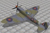 maya supermarine spitfire fighter ix