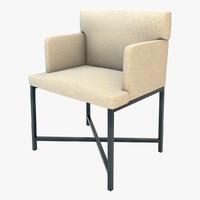 3d tacha chair model