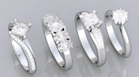 4 HQ Diamond Rings