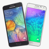 Samsung Galaxy Alpha Black And White