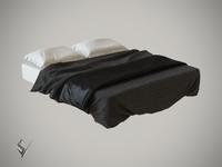 3ds max bedclothes