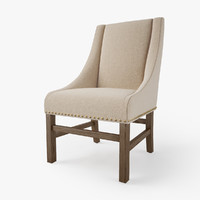 3d model 10 chairs restoration hardware