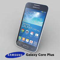 samsung galaxy core 3d model