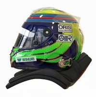 racing helmet felipe massa 3d model