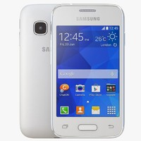 3d samsung galaxy young 2 model