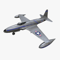 3d model purchase p-80 f-80 shooting