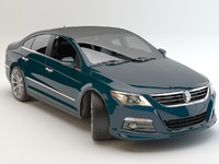 3d model passat cc 2012