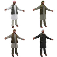 3d arab men man