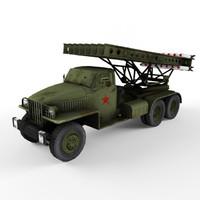 3ds katyusha artillery