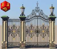 3d metallic gate