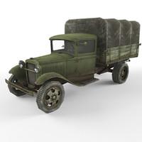 truck gaz 3d max