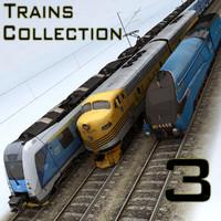 3d trains diesel tgv