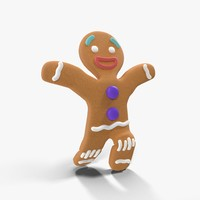 3ds max gingerbread man rigged