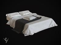3d max bedclothes