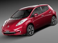 3ds 2014 nissan leaf