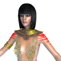 3d model female girl
