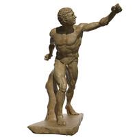 statue borghese gladiator max