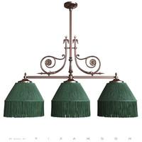 3d model billiard lamp