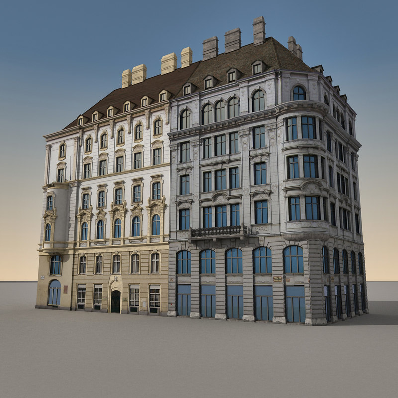 3d european architecture buildings europe for Architects council of europe