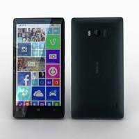 3dsmax nokia lumia 930 black