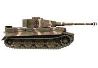 panzerkampfwagen vi tiger heavy tank 3d c4d