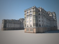 3d model of building paris