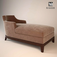 soft couch aziza 3d model