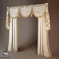 curtain 3d 3ds