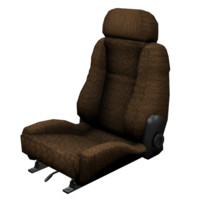 Bucket Seat Low Poly