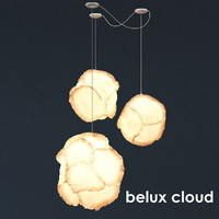 3d max belux cloud lamp