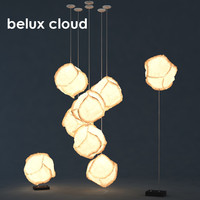 max belux cloud lamp
